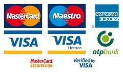 ezekkel a bankkártyákkal lehet fizetni