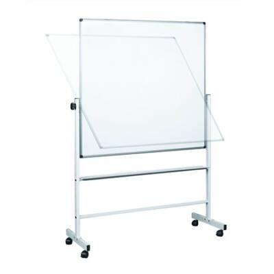 Átfordítható tábla, zománcozott, kétoldalas, 120x150 cm