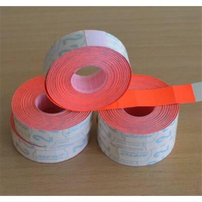 Árazógépszalag, 19x16 mm, METO, piros