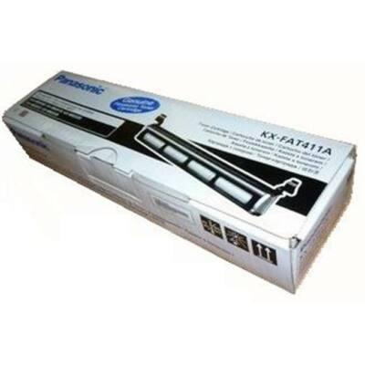 KX-FAT411 Faxtoner KX-MB 2025 faxkészülékhez, PANASONIC fekete, 2k